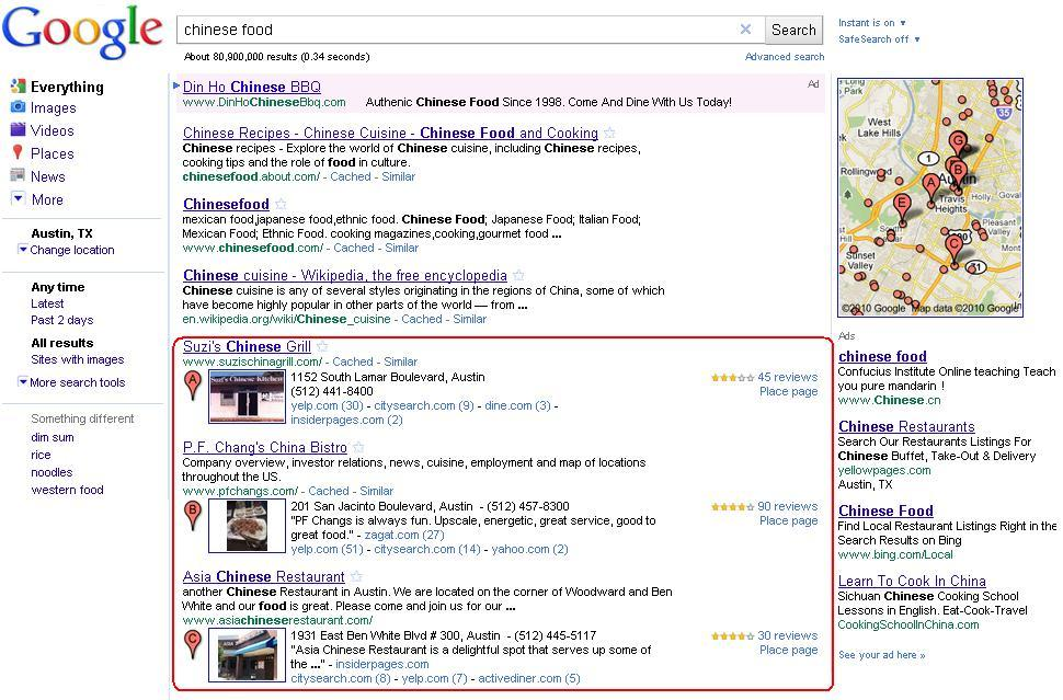 how to find similar companies in google search